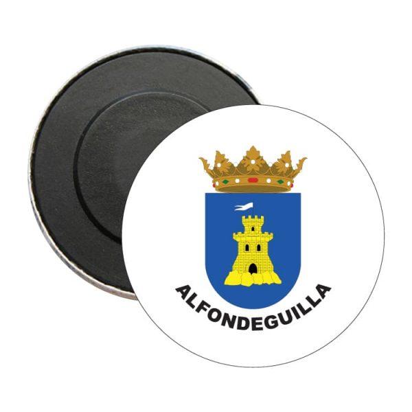 iman redondo escudo heraldico alfondeguilla