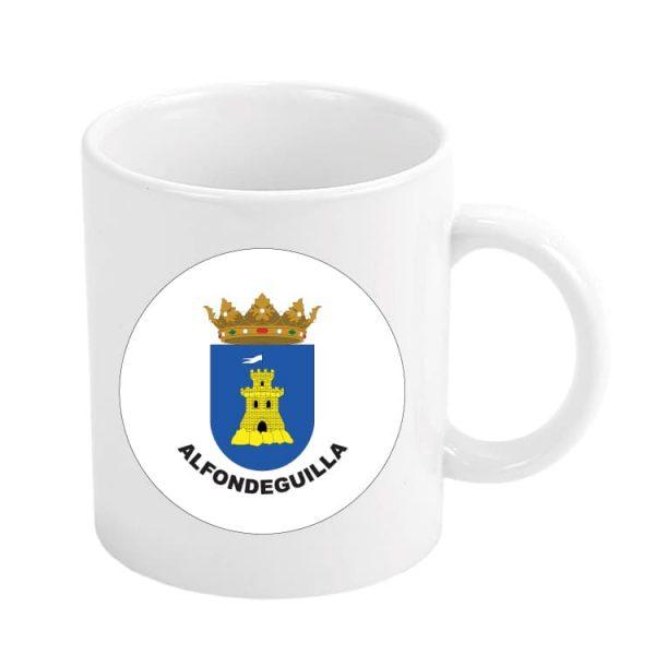 taza escudo heraldico alfondeguilla
