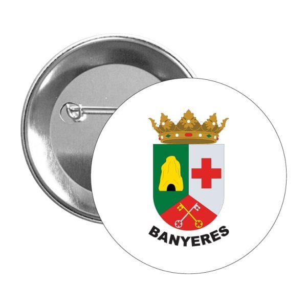 chapa escudo heraldico banyeres