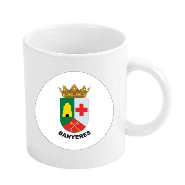 taza escudo heraldico banyeres