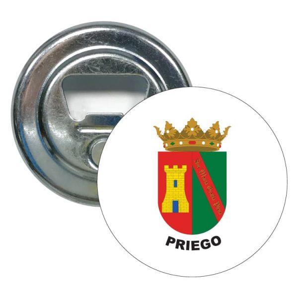 abridor redondo escudo heraldico priego