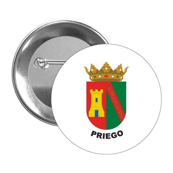chapa escudo heraldico priego