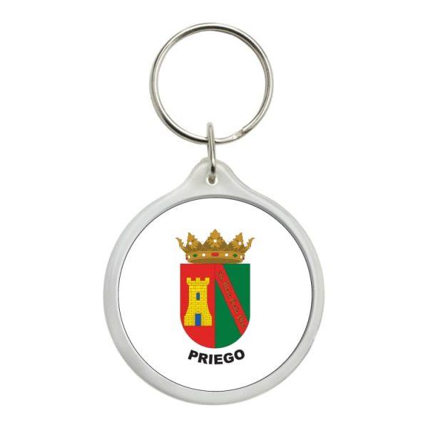 llavero redondo escudo heraldico priego
