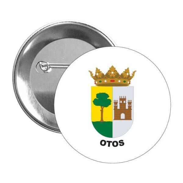 chapa escudo heraldico otos