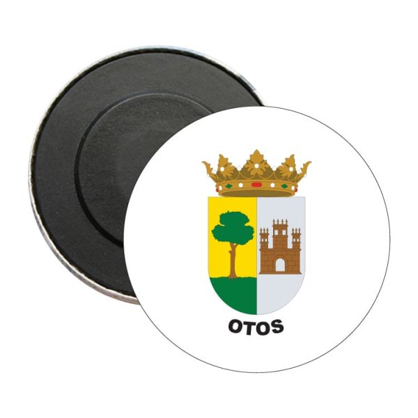 iman redondo escudo heraldico otos