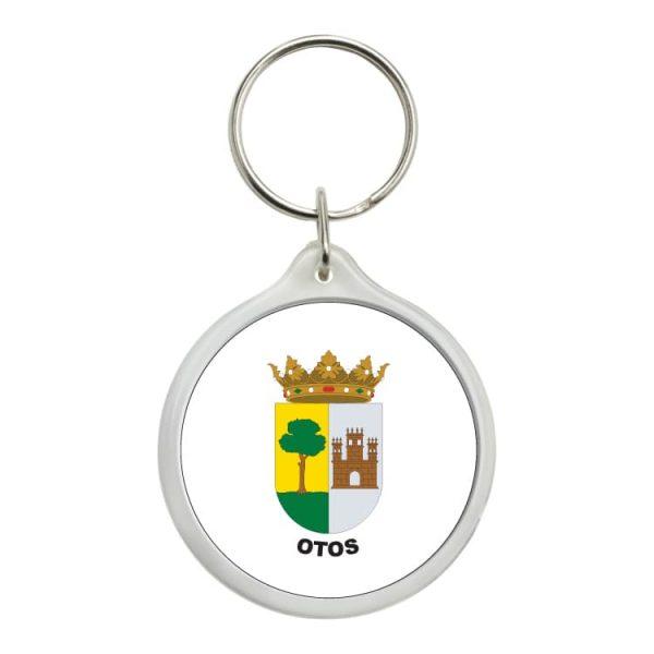 llavero redondo escudo heraldico otos