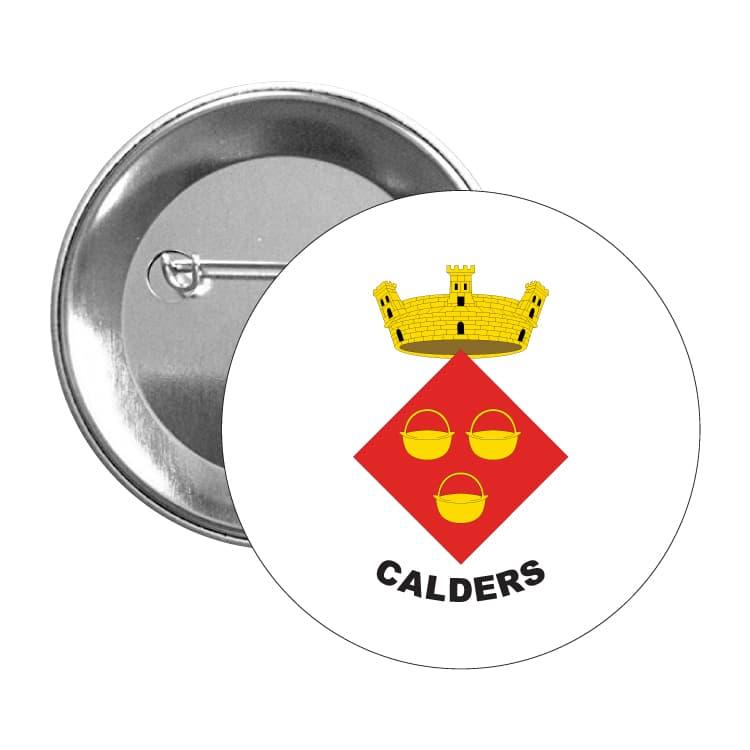 1013 chapa escudo heraldico calders