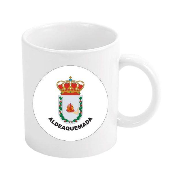 1015 taza escudo heraldico aldeaquemada
