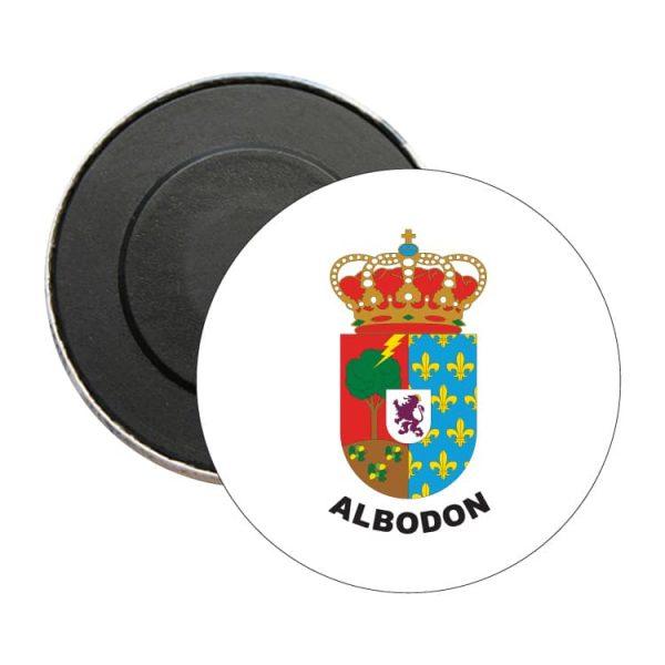 iman redondo escudo heraldico albodon