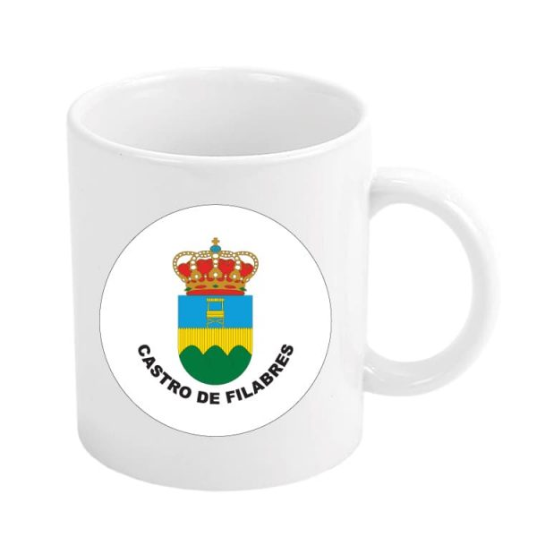taza escudo heraldico castro de filabres