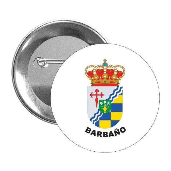 1020 chapa escudo heraldico barbaNo
