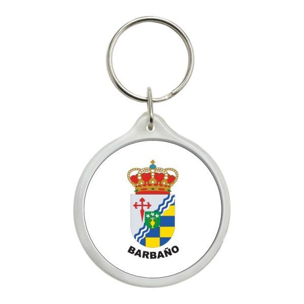 llavero redondo escudo heraldico barbano