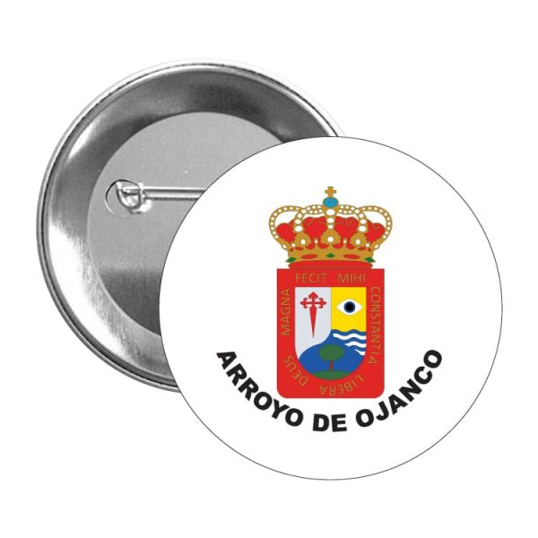 chapa escudo heraldico arroyo de ojanco