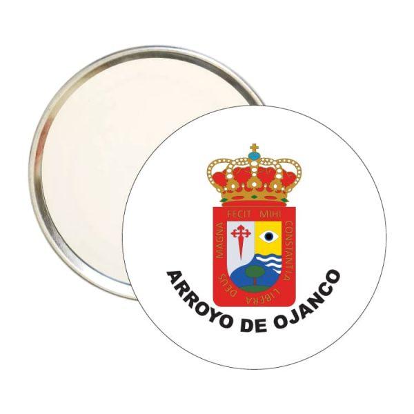 espejo redondo escudo heraldico arroyo de ojanco