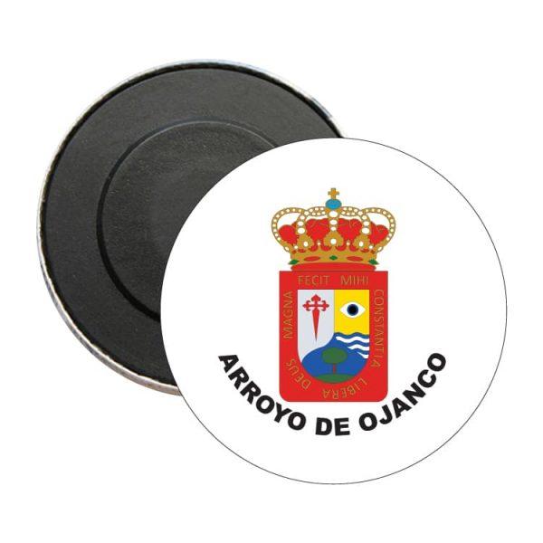 iman redondo escudo heraldico arroyo de ojanco