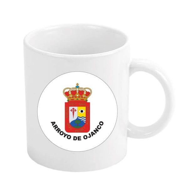 taza escudo heraldico arroyo de ojanco