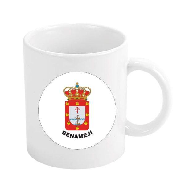 taza escudo heraldico benameji