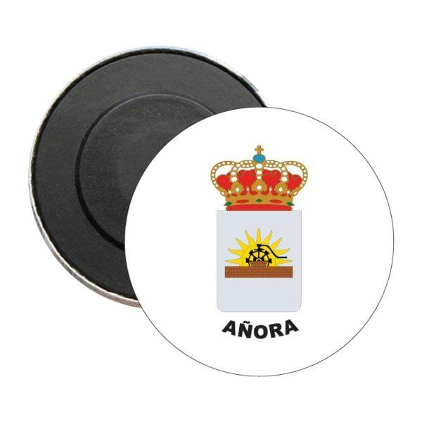 iman redondo escudo heraldico anora