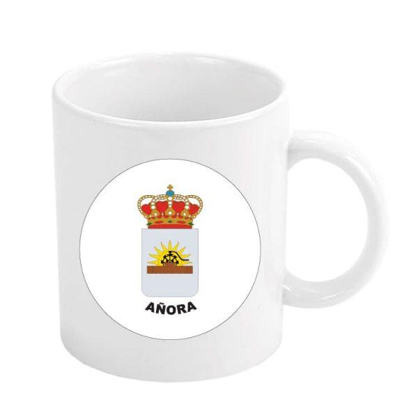taza escudo heraldico anora