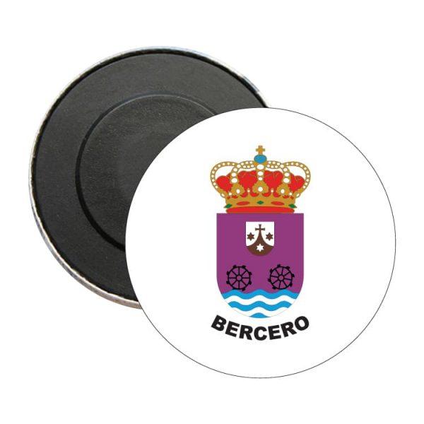 iman redondo escudo heraldico bercero