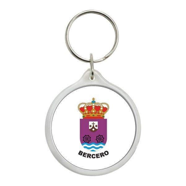 llavero redondo escudo heraldico bercero