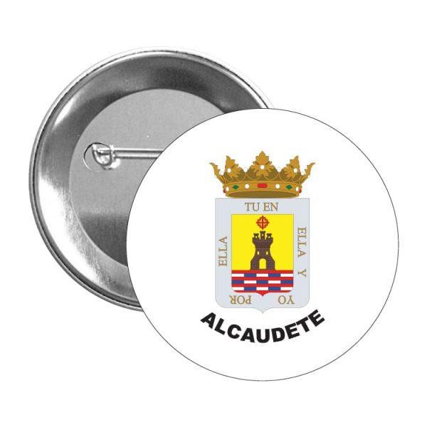 chapa escudo heraldico alcaudete