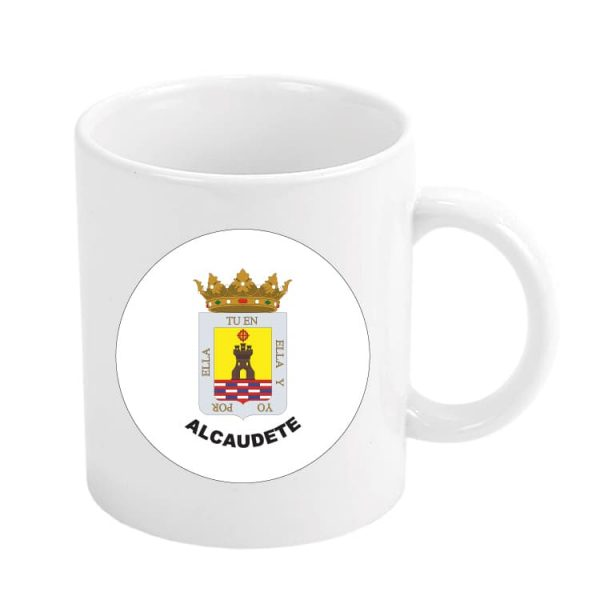 1026 taza escudo heraldico alcaudete