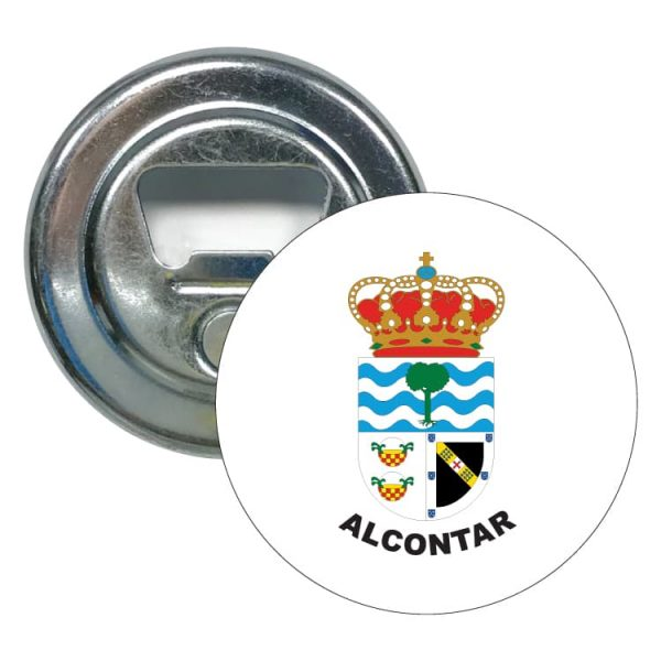 abridor redondo escudo heraldico alcontar