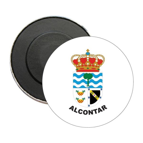 iman redondo escudo heraldico alcontar