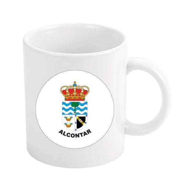 1027 taza escudo heraldico alcontar