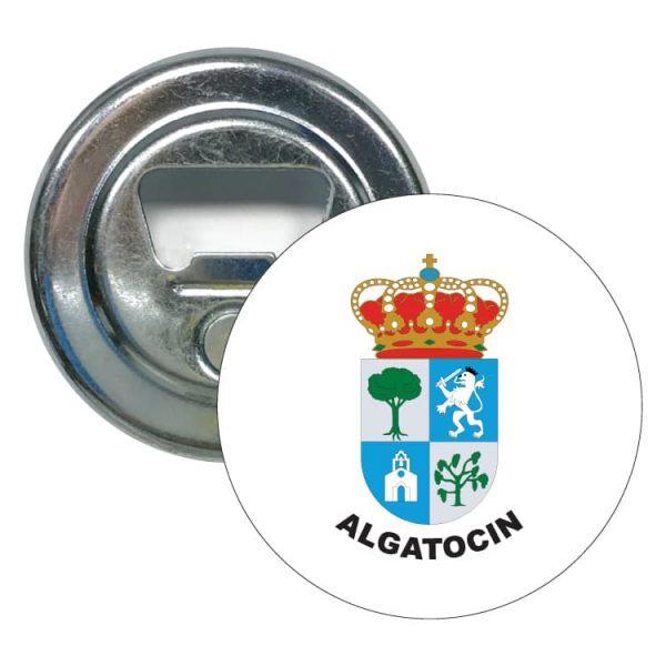 abridor redondo escudo heraldico algatocin