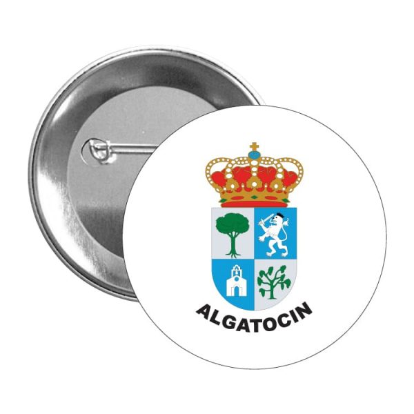 chapa escudo heraldico algatocin