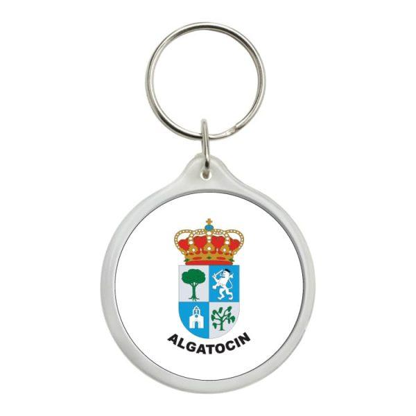 llavero redondo escudo heraldico algatocin