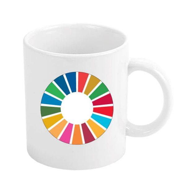 taza ods desarrollo sostenible ods logo