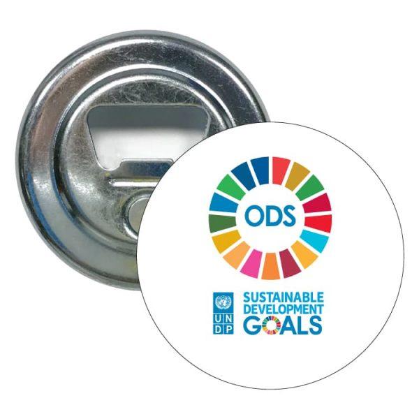 abridor redondo desarrollo sostenible ods sustainable development goals