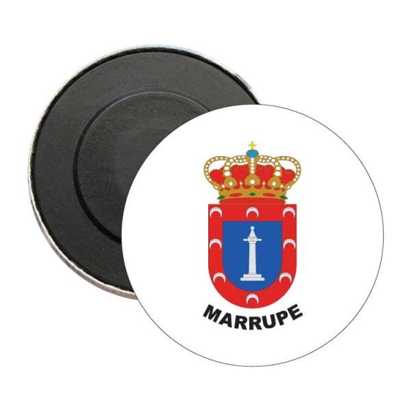 iman redondo escudo heraldico marrupe