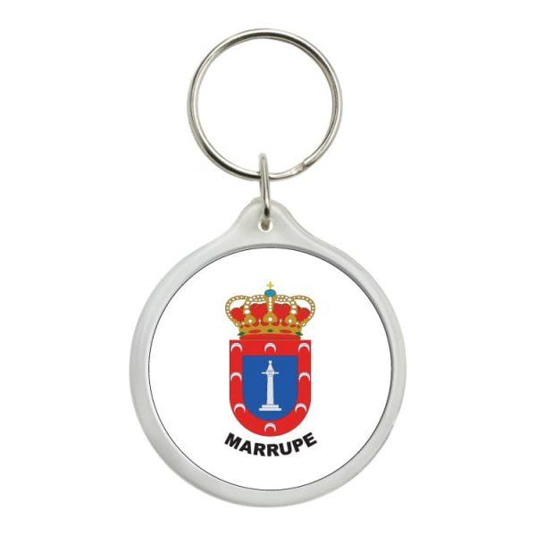 llavero redondo escudo heraldico marrupe