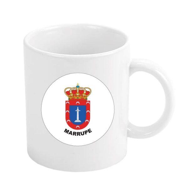 taza escudo heraldico marrupe