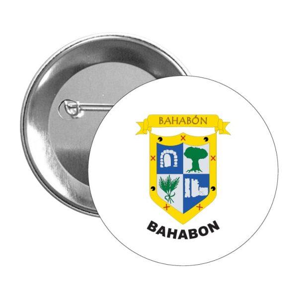 1100 chapa escudo heraldico bahabon