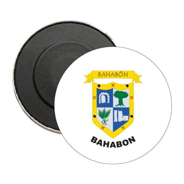 iman redondo escudo heraldico bahabon
