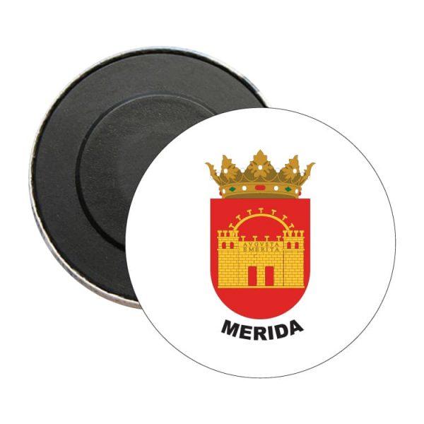 iman redondo escudo heraldico merida