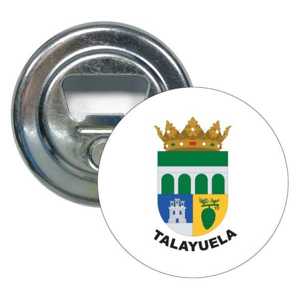 abridor redondo escudo heraldico talayuela