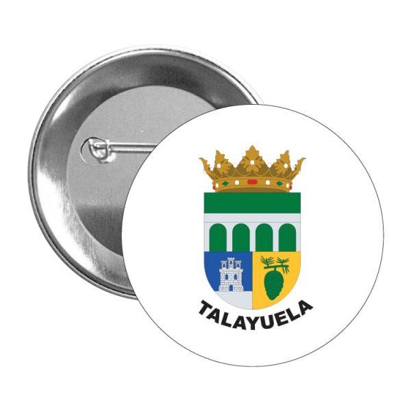 chapa escudo heraldico talayuela