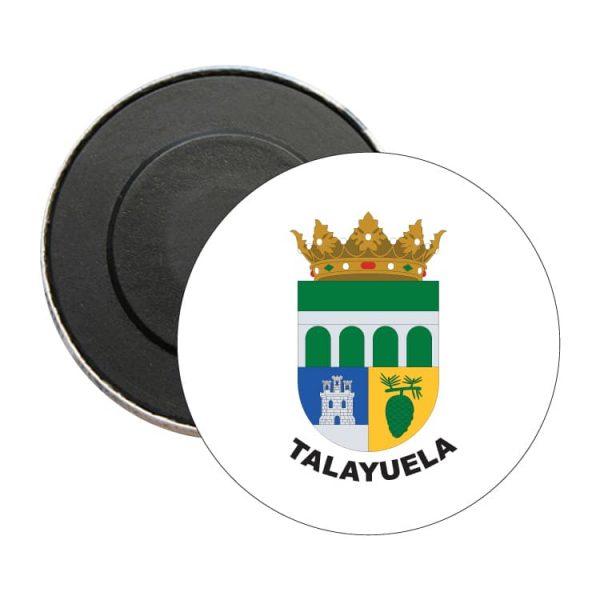 iman redondo escudo heraldico talayuela