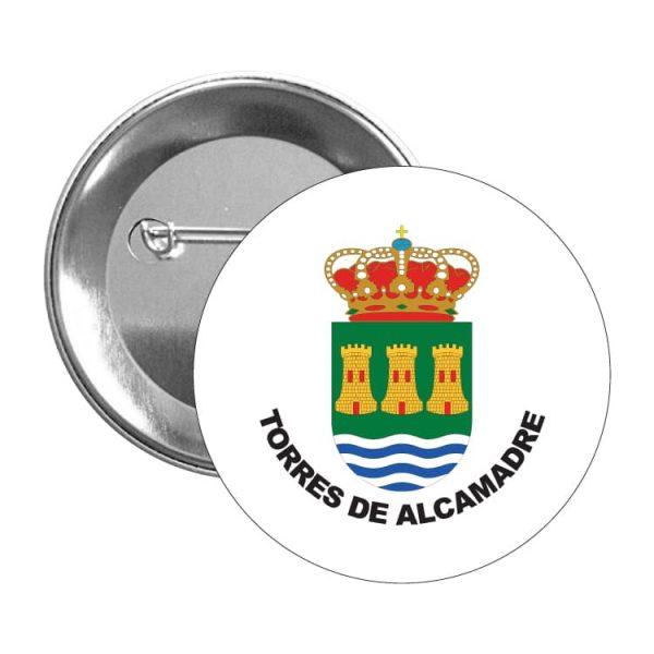 chapa escudo heraldico torres de alcamadre