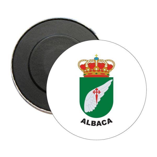 iman redondo escudo heraldico albaca