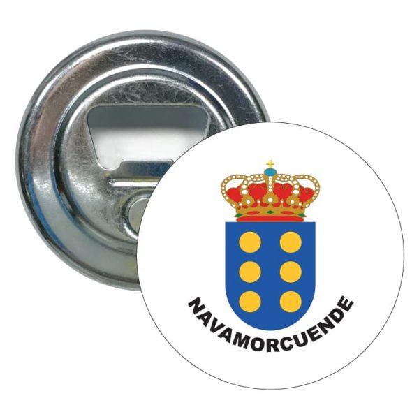 abridor redondo escudo heraldico navamorcuende