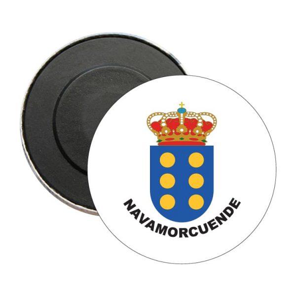iman redondo escudo heraldico navamorcuende
