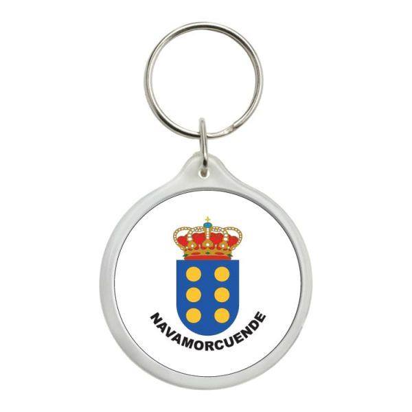 llavero redondo escudo heraldico navamorcuende