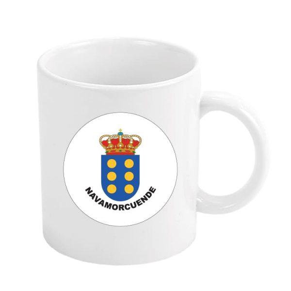 taza escudo heraldico navamorcuende